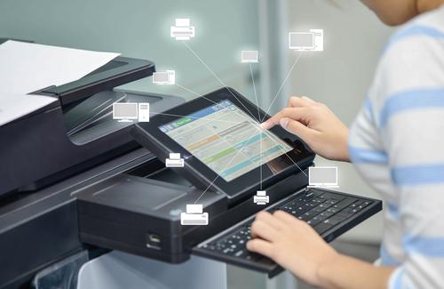 Mobile Printing using Computer Vision